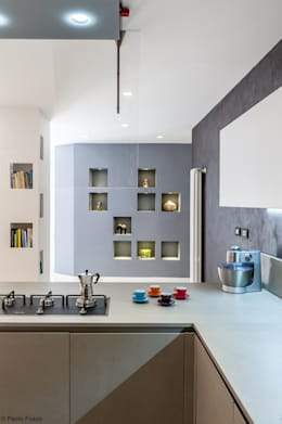 moderne Küche von zero6studio - Studio Associato di Architettura