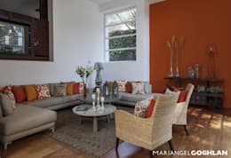 casa Limonero: Salas de estilo moderno por MARIANGEL COGHLAN