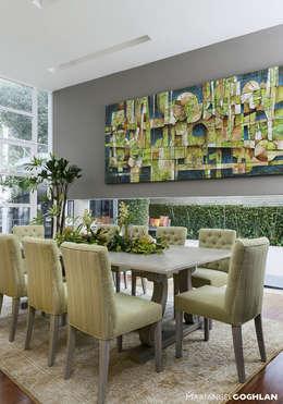 casa Limonero: Comedores de estilo moderno por MARIANGEL COGHLAN