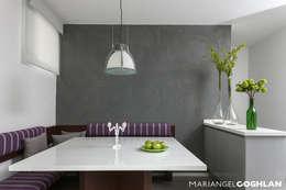 casa Limonero: Comedores de estilo minimalista por MARIANGEL COGHLAN