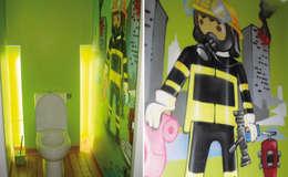 ausgefallene Badezimmer von Popek décoration