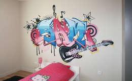 Popek décoration: modern tarz Çocuk Odası