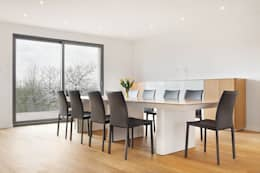 Dom D&J: styl , w kategorii Jadalnia zaprojektowany przez Pracownia Projektowa Ola Fredowicz