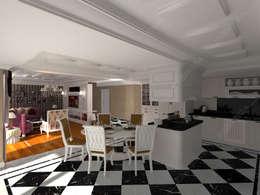 Cocinas de estilo moderno por Fabbrica Mobilya