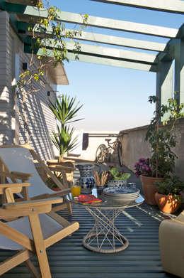 Terrasse de style  par Mauricio Arruda Design