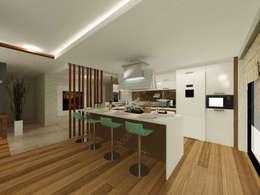 Fabbrica Mobilya – KUMTAŞ KONUT : modern tarz Mutfak