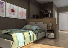 Fabbrica Mobilya – KUMTAŞ KONUT : modern tarz Yatak Odası