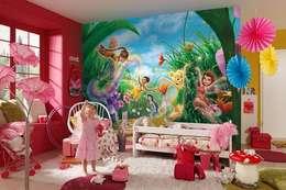 modern Nursery/kid's room by Allwallpapers