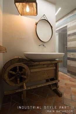 industriële Badkamer door Rachele Biancalani Studio