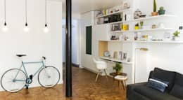 Projekty,  Salon zaprojektowane przez slashdesign