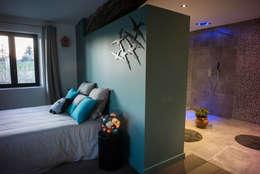 Projekty,  Sypialnia zaprojektowane przez MS Fabrique