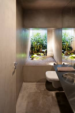 Baños de estilo moderno por Pascali Semerdjian Arquitetos