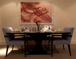 classic Dining room by Roselind Wilson Design