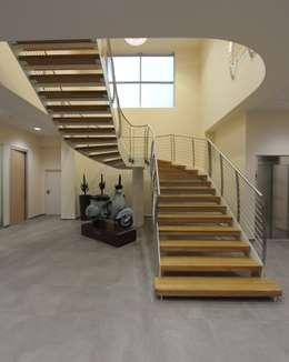 Salas de estilo moderno por Tecnoscale