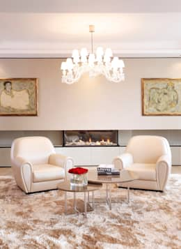 modern Living room by Roselind Wilson Design