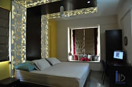 Apartment in Hyderabad:   by Innover Interior Designs