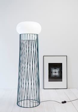 forestier lampe BLOW: Salon de style de style Moderne par Normal Studio