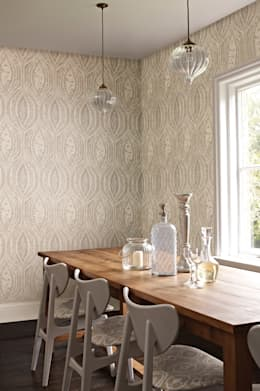 eclectic Dining room by Prestigious Textiles