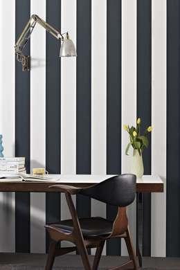 Projekty,  Domowe biuro i gabinet zaprojektowane przez Prestigious Textiles