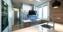 Projekty,  Kuchnia zaprojektowane przez Estudio TYL