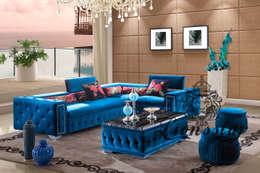 Designer Sofas: moderne Wohnzimmer von Lionsstar GmbH
