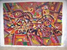 PINTURA DECORATIVA Y ARTISTICA: Recámaras de estilo moderno por JESUS RODRIGUEZ SADOVAL