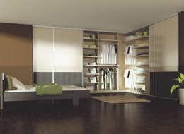 Chambre de style de style Moderne par Sliding Wardrobes World Ltd