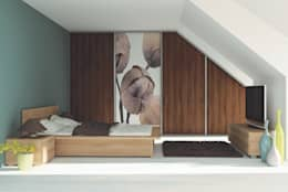 modern Bedroom by Sliding Wardrobes World Ltd