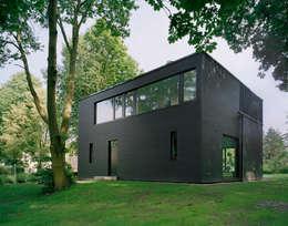 Projekty, minimalistyczne Domy zaprojektowane przez C95 ARCHITEKTEN