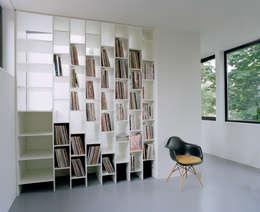 Projekty,  Salon zaprojektowane przez C95 ARCHITEKTEN