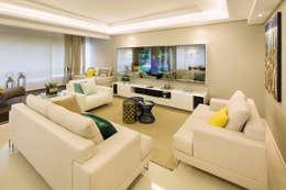 AL11 ARQUITETURA: modern tarz Oturma Odası