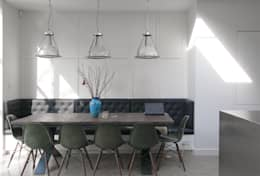 Dining room by Emmett Russell Architects
