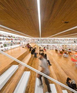 Livraria Cultura: Casas modernas por Studio MK27