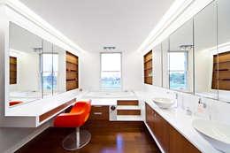 RESIDENCIA R: Baños de estilo  por ARQUITECTURA EN PROCESO