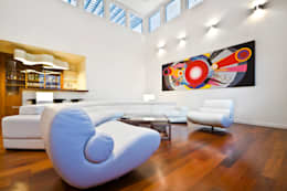 minimalistic Living room by ARQUITECTURA EN PROCESO