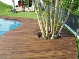 Paredes y suelos de estilo moderno de Shimada Flooring