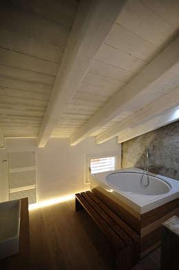 house SD: Case in stile in stile Minimalista di Didonè Comacchio Architects