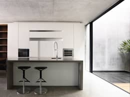 Well of Light: modern Kitchen by HYLA Architects