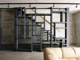 Salas / recibidores de estilo moderno por HYLA Architects