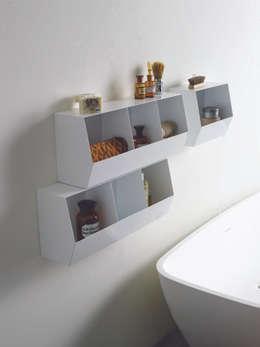 Belle e utili: le mensole da bagno