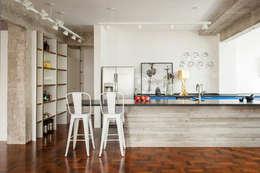 Mauricio Arruda Design: eklektik tarz tarz Mutfak
