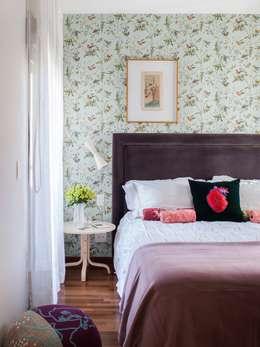 Dormitorios de estilo ecléctico por Mauricio Arruda Design