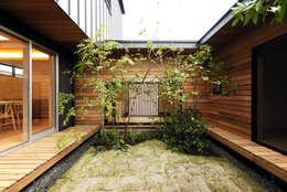 Projekty,  Ogród zaprojektowane przez GREENSPACE