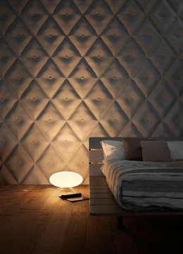 3D Surface: Pareti & Pavimenti in stile in stile Moderno di Jacopo Cecchi Designer