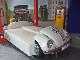 غرفة نوم تنفيذ Automöbeldesign