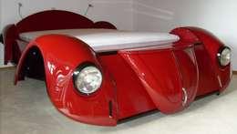 Slaapkamer door Automöbeldesign