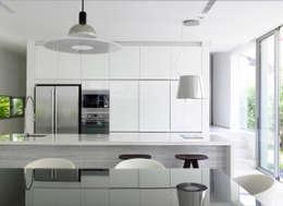 Projekty,  Kuchnia zaprojektowane przez HYLA Architects