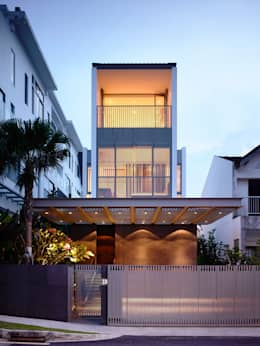 Projekty, nowoczesne Domy zaprojektowane przez HYLA Architects