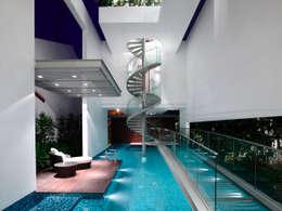modern Pool by HYLA Architects