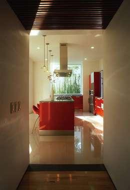 Casa Feryvale, 2006: Cocinas de estilo moderno por Taller Luis Esquinca
